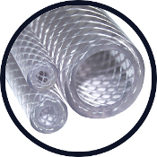 Reinforced Non-Phthalate Flexible PVC Clear